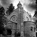 Forest Lawn cemetery chappel