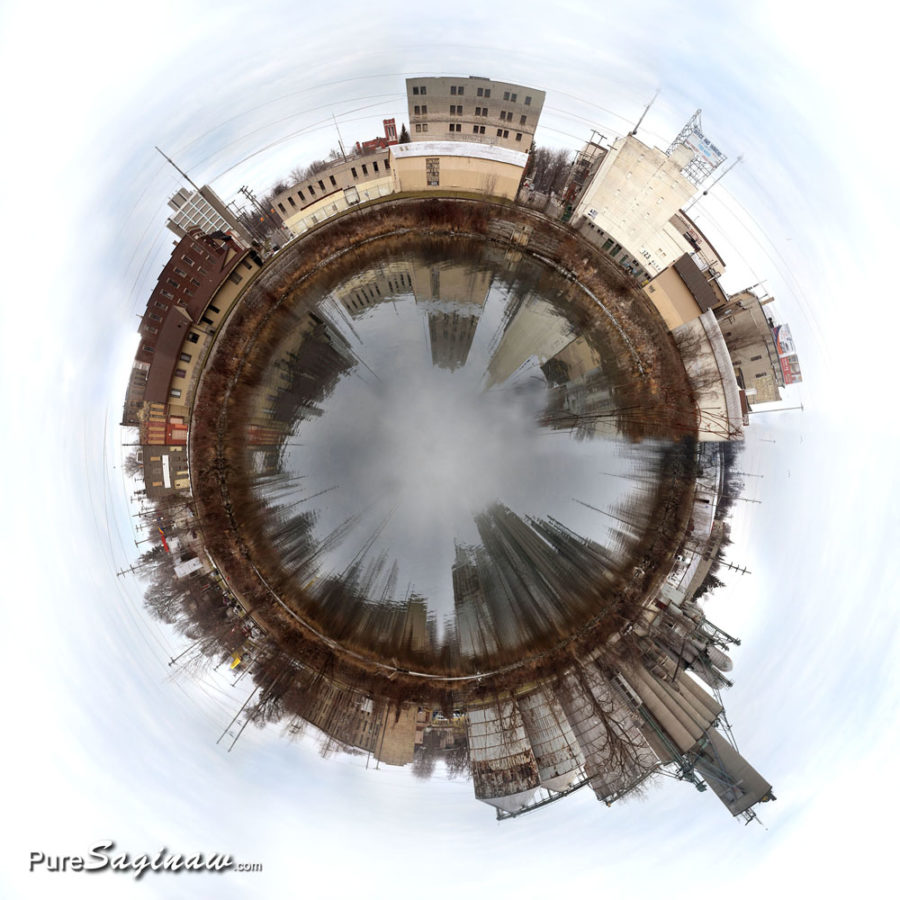 old town Saginaw michigan planet