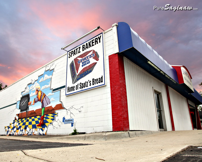 Spatz bakery mural saginaw michigan