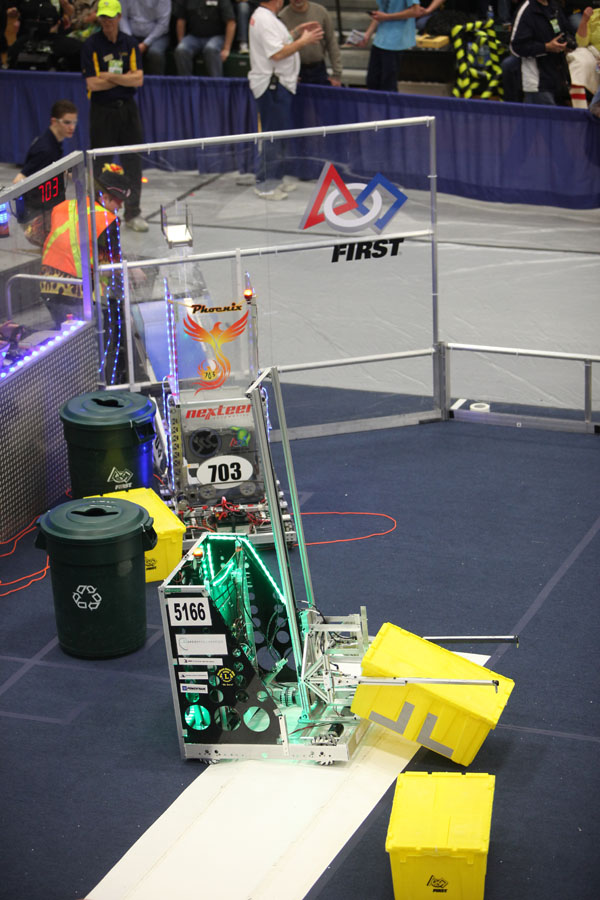freeland scc first robotics