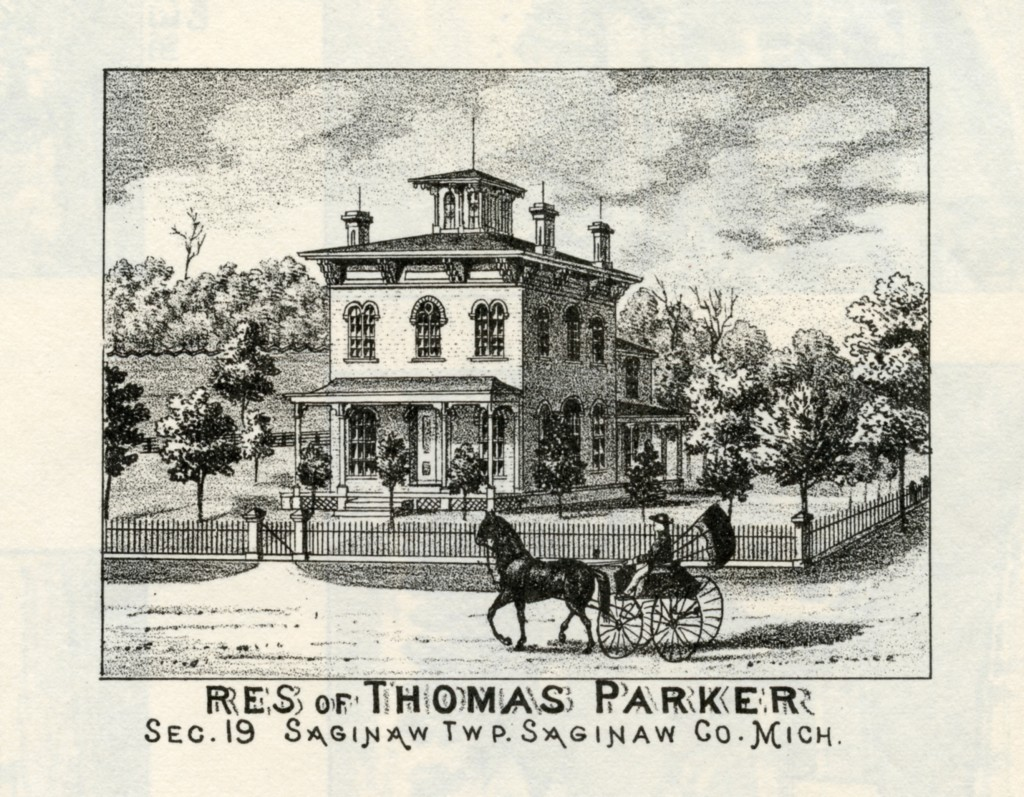 Thomas Parker house of oak saginaw