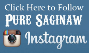 Instagram-Logo pure saginaw button
