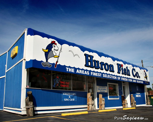 Huron Fish Co. Saginaw Michigan