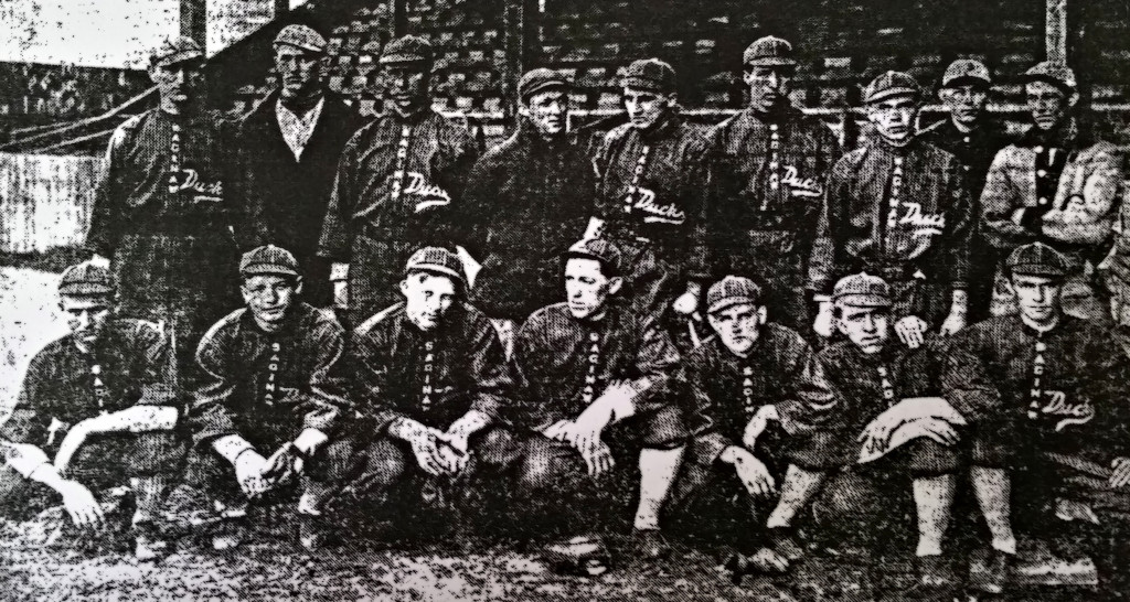 saginaw duck baseball team 1913