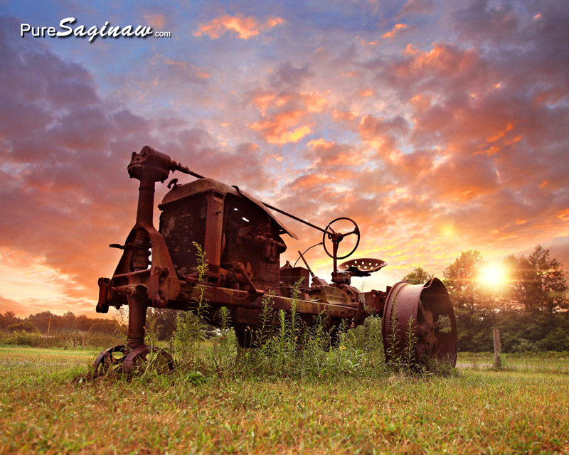 old tractor Saginaw Michigan