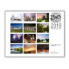 2018 pure saginaw wall calendar rear