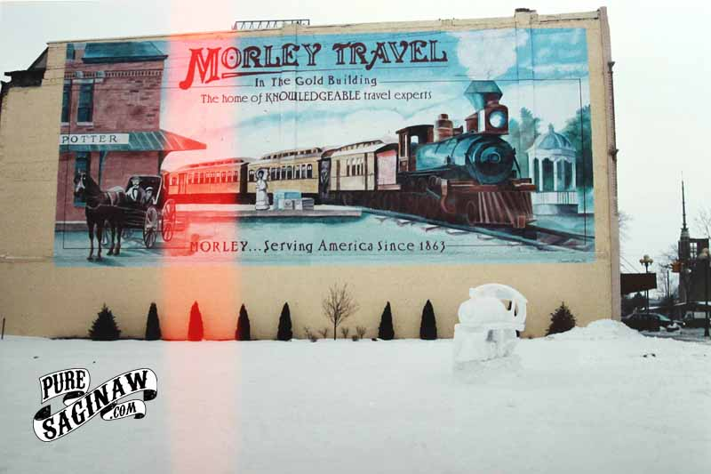 morley mural saginaw michigan